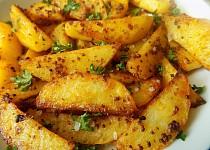Pečené zrníčkové brambory