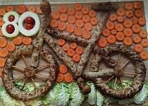Slaný dort - kolo