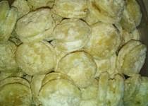 Tvarohové koláčky ze šlehačkového těsta