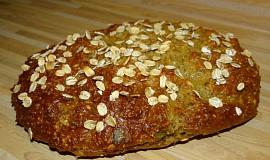 Ovesný semínkový chléb