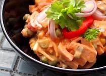 Salát s majonézou