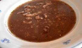 Terlouka (černá polévka)