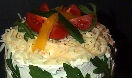 Jednoduchý, rychlý slaný  dort