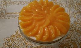 Nepečený pomerančový dort (zimní varianta lehkého letního dezertu)