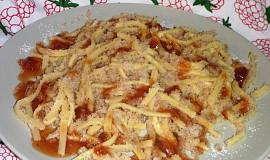 Těstoviny s krupicí