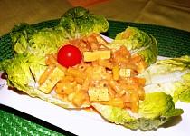 Tofu na smetaně s fazolkami
