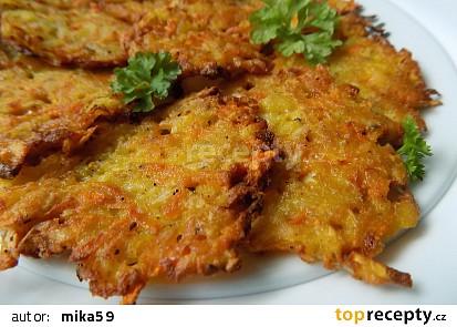 """Zeleninové """"rösti"""""""