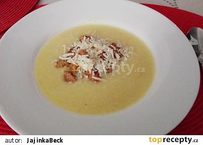 Celerovo-bramborový krém
