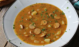 Frankfurtská jemná polévka