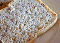 Kváskový chleba se syrovátkou a lněným semínkem
