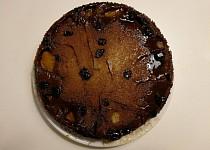 Převrácený jablečný koláč