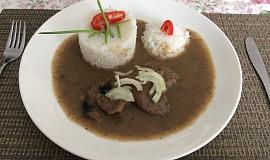 Roštěná s rýží