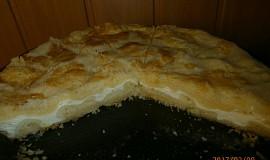 Sypký tvarohový koláč