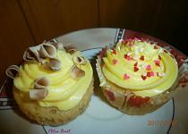 Banánové cupcakes