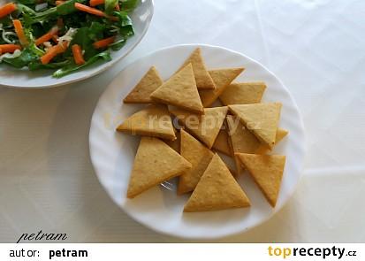 Cizrnové lupínky nachos