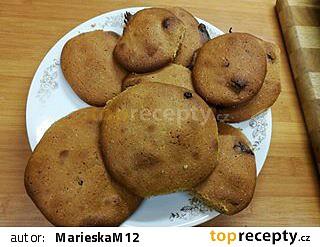 Nadýchané cookies s kousky čokolády