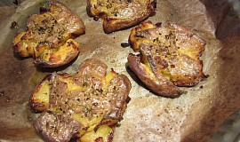 Pečené bramborové křupánky
