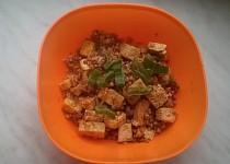 Pohanka s uzeným tofu