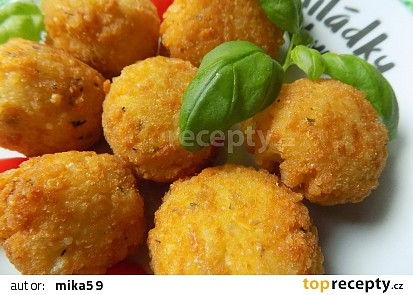 Rýžové krokety se sýrem