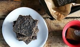 Veganské proteinové brownies