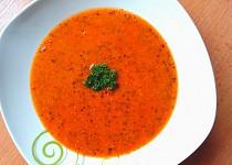 Čočková polévka s quinoou
