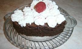 Čokoládové brownies s višněmi