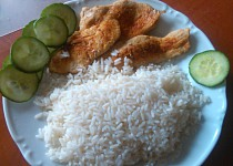 Dietní řízky s rýží