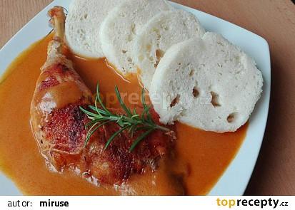 Kuře na paprice asi trochu jinak