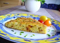 Květákový koláč se sýrem