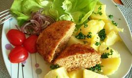 Moje oblíbené zeleninové karbanátky