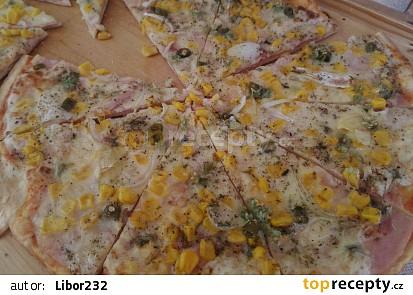 Pizza jako z pizzerie - nejjednodušší a nejlepší
