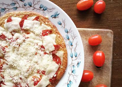 Zdravá pizza z domácího těsta