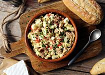 Hermelínový salát bez majonézy