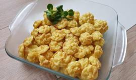 Jednoduché bramborové pusinky