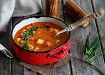 Jemná bramborová polévka