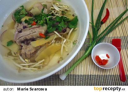 Polévka z vepřových žebírek po vietnamsku