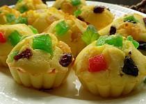 Bleskové košíčky s ovocem