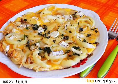 Bramborovo - papriková frittata