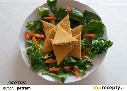 Hrachové lupínky nachos