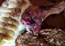 Kuřecí stehýnka s nádivkou na tymiánu