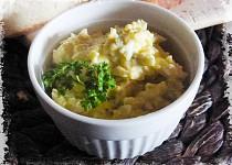 Vajíčková pomazánka s bramborem a křenem