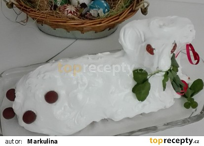 Velikonoční beránek jogurtovo celozrnný