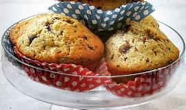 Čokoládovo-oříškové muffiny