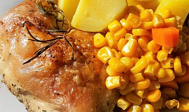 Kuře pečené na rozmarýnu