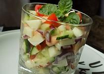Míchaný salát s mátou