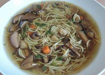 Kovářská houbová polévka