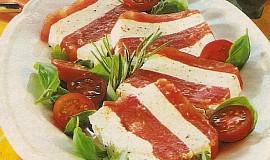 Rajčatové želé s mascarpone
