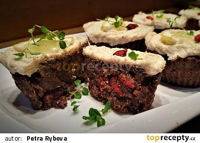 RAW mrkvové muffiny s citronovou polevou