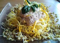 RAW rychlé cuketové špagety