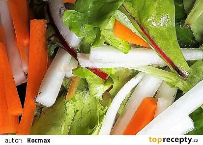 Salát z bílé ředve